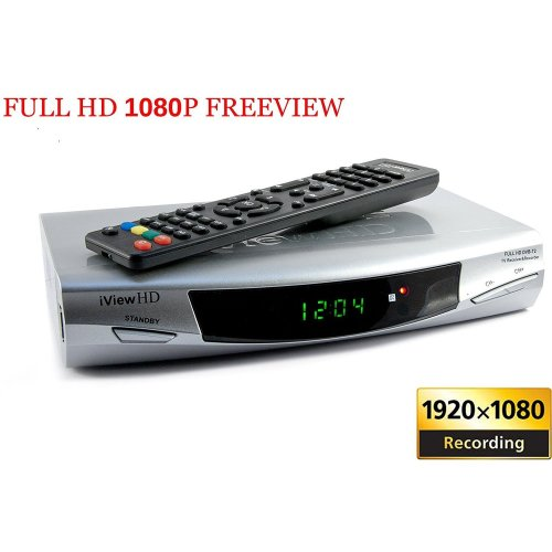HD Freeview Set Top Box Receiver Digi Box Digital TV Tuner SD + USB HD Recorder