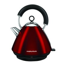 Morphy Richards Accents Pyramid Kettle 1.5L capacity - Red (Model No. 102029)