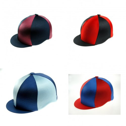 Capz Two-Tone Lycra Cap Cover