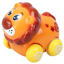 Set of 2 Lion Wind-up Car Toy for Baby/Toddler/Kids(Multicolor)