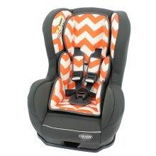 Obaby Group 0-1 Combination Car Seat - Zigzag Orange