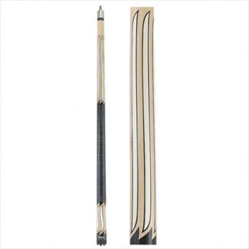 """Viper 50-1350 58""""Natural Color Wood Stainless Steel Sinister Series Cue"""