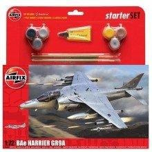 Air55300 - Airfix Large Starter Set - 1:72 - Bae Harrier Gr9a