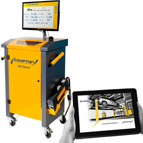 Crypton Combined Gas and Smoke Analyser with Wireless Tablet