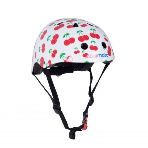 Kiddimoto Children's Bike / Scooter / Skateboarding Helmet - Cherry Design