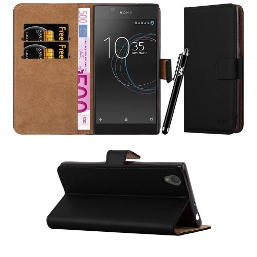 For Sony Xperia L1 Leather Wallet Case Cover