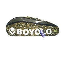 Single Shoulder Waterproof And Dustproof Racket Bag 6 Racquet Bag,Green