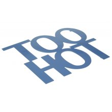 Too Hot Trivet - Blue