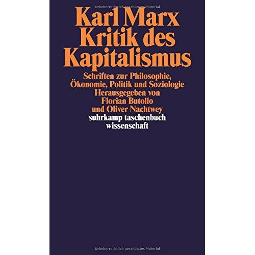 Kritik des Kapitalismus: Schriften zu Philosophie, Ökonomie, Politik und Soziologie