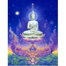 "Aluminium metal wall art ""Buddha"" bud01"