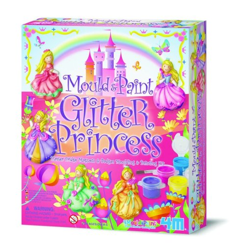 Glitter Princess Mould & Paint Kit