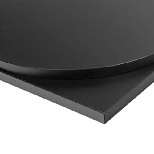 Taybon Laminate Table Top - Black Rectangular - 1000x500mm