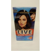 Schwarzkopf LIVE Intense Colour Permanent 089 Bitter Sweet Chocolate - Pack of 3