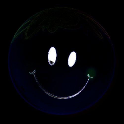 Qualatex 22 Inch Bright Smiley Face Bubble Balloon
