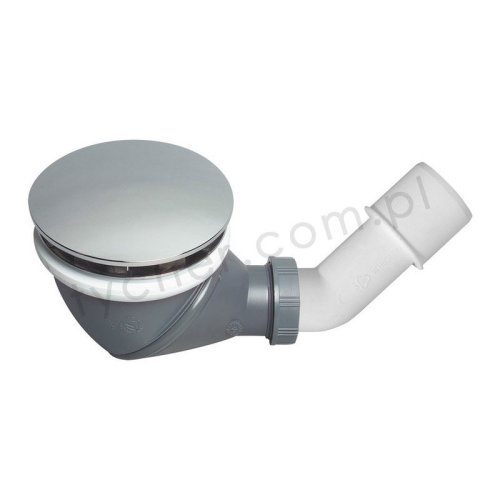 Wirquin James Multi Directional Shower Waste Drain 90mm 360 Degree with Cap Cover