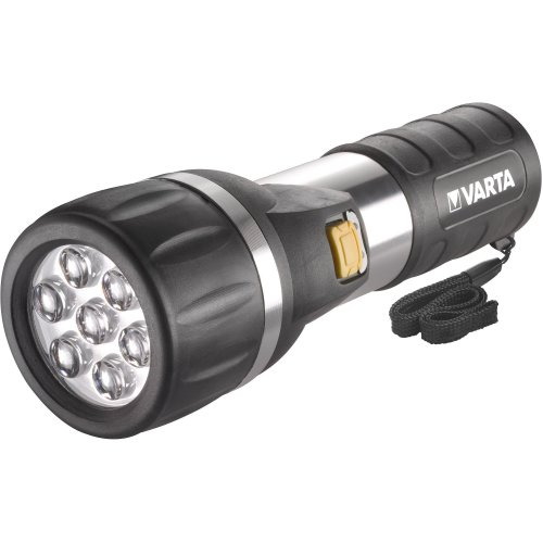 Varta LED Day Torch with 2 x D Batteries