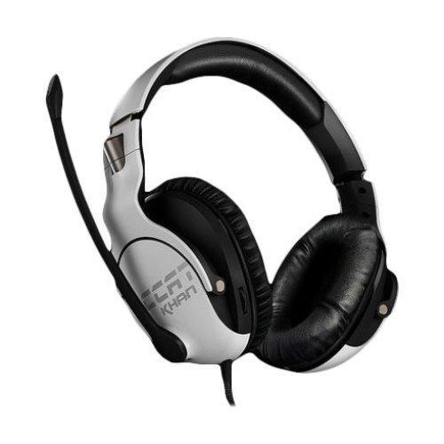 ROCCAT Khan Pro Binaural Head-band White headset