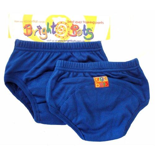 Bright Bots 2pk Washable Training Pants Blue