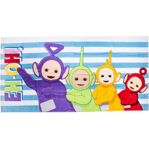 "Teletubbies ""Playtime"" 100% Cotton Beach Towel"