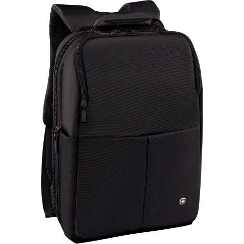 """Wenger 601068 Reload 14"""" Laptop Backpack with Tablet Pocket - Black 601068"""