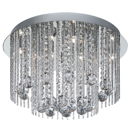 Searchlight Beatrix 8-light Crystal Chandelier Ceiling Light 8088-8cc