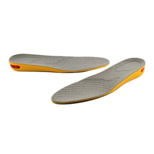 Comfortable 1-Layer 2 cm Height Increase Insole Shoes Pad for Men, Gray