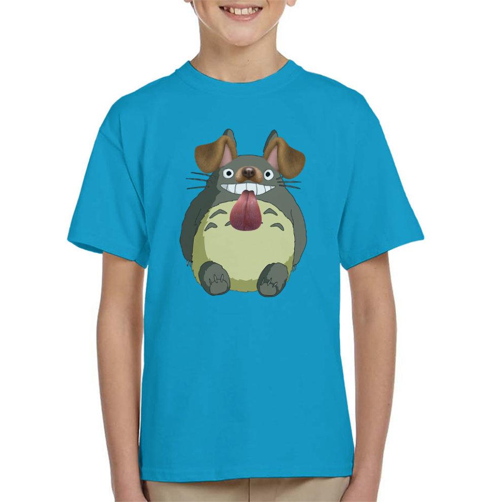 66f33cbd1 Studio Ghibli Totoro Dog Snapchat Filter Kid's T-Shirt on OnBuy
