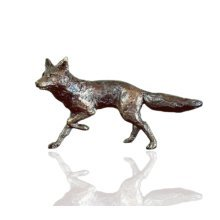 Bronze Fox Running Figure - Butler & Peach - 2015.