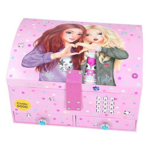 Depesche TOP Model Big Jewellery Box With Code And Sound Lexy & Nadja