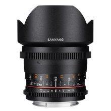 Samyang 10 mm T3.1 VDSLR II Manual Focus Video Lens for Micro Four Thirds Camera