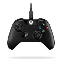 MicroSoft XBox One Wired PC Controller - Black