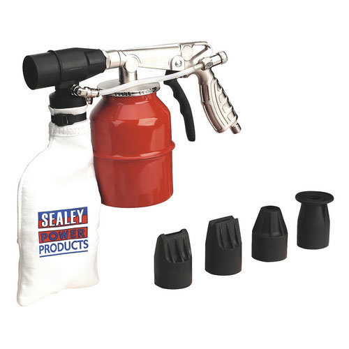 Sealey SG12 Extra Heavy-Duty Recirculating Sand Blasting Kit
