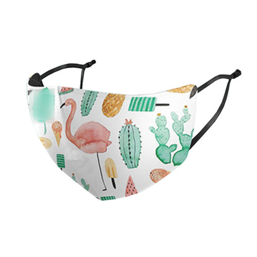 Unisex Mask Beautiful Fashion Dust-proof Mask  Mouth Face Mask  Sunscreen Breathable Summer, No.3