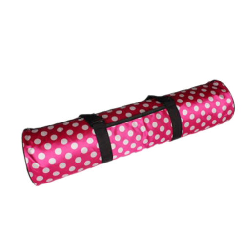 Outdoor Sport Bag Waterproof Training Yoga Bag Thicken Yoga Mat Bag-Rose Red