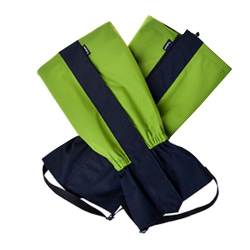 Hiking/Climbing/Camping/Skiing Shoes Gaiter For Children- Green