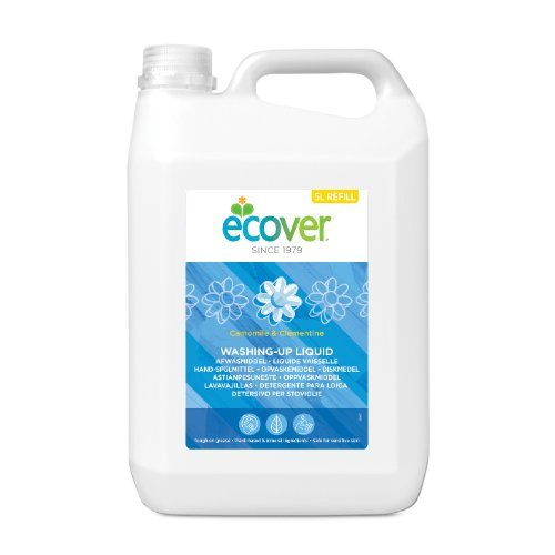 Ecover  Washing Up Liquid - Chamomile & Clementine 5 Ltr