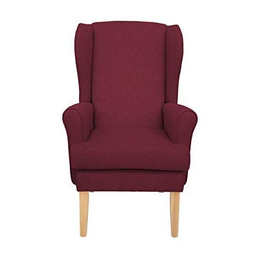 MAWCARE Highland Orthopaedic High Seat Chair - 21 x 21 Inches [Height x Width] in High Crimson (lc21-Highland_h)