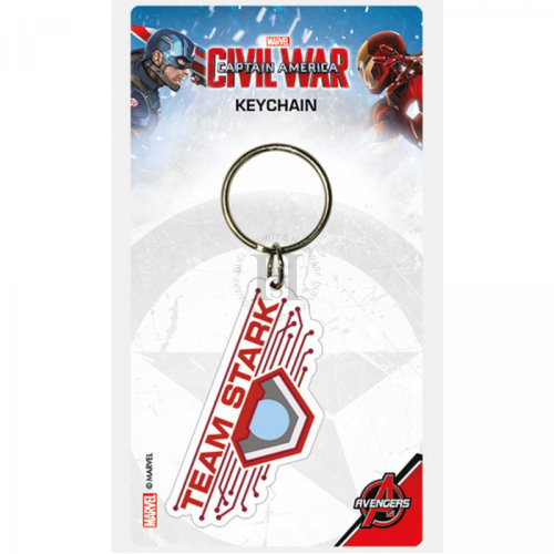 Marvel - Captain America Civil War - Team Stark Keychain