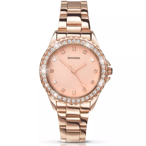 Sekonda Editions Temptations 4253 Women's Watch - Rose Gold