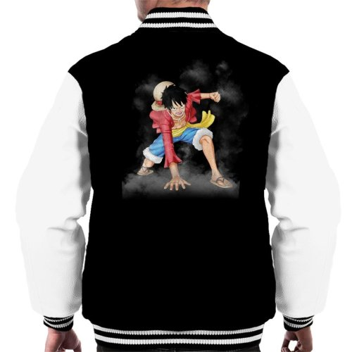 Monkey D Luffy Gear 2 One Piece Men's Varsity Jacket
