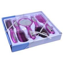 Premium Durable Hair Comb Afro Pick Anti-static Combs Anti-Static,5 PCS,Purple