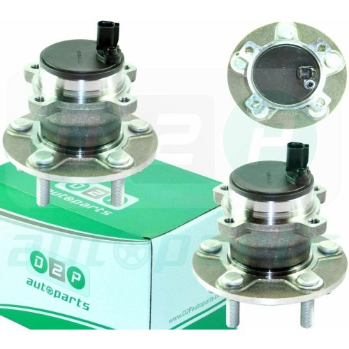 2x REAR WHEEL BEARING HUB WITH ABS FOR FORD FOCUS II, C-MAX, FOCUS C-MAX  (PAIR)