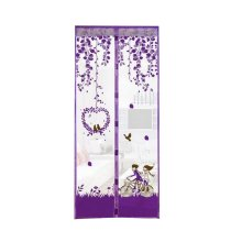 Romantic Purple Home Parents/Kids Room Yarn Door Curtain