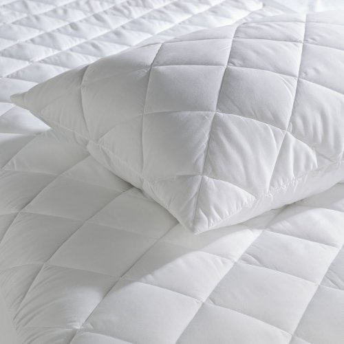Extra Deep 100% Egyptian Cotton Quilted Mattress Protector Fitted 38 cm
