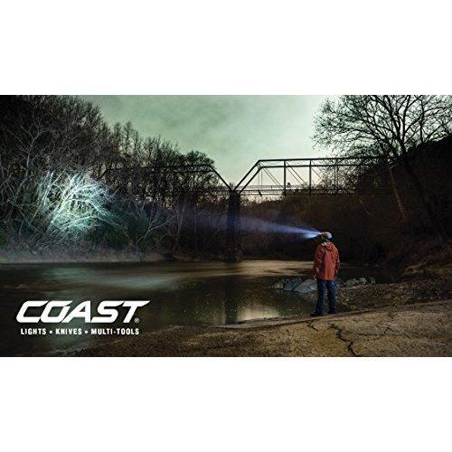 Coast HL7R Rechargeable Focusing 240 Lumen LED Headlamp