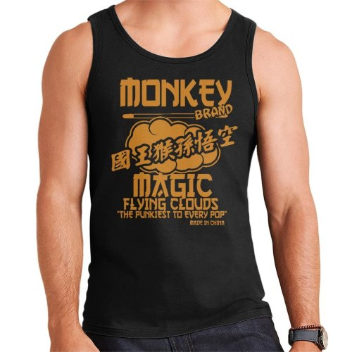 Monkey Magic Flying Clouds The Pukiest To Every Pop Men's Vest