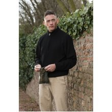 ProQuip Half Zip Merino Water Repellent Jumper Black Small