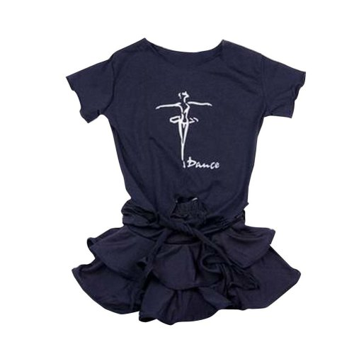 2 PCS of Shirt and Skirt Baby Dance/Sports Dress