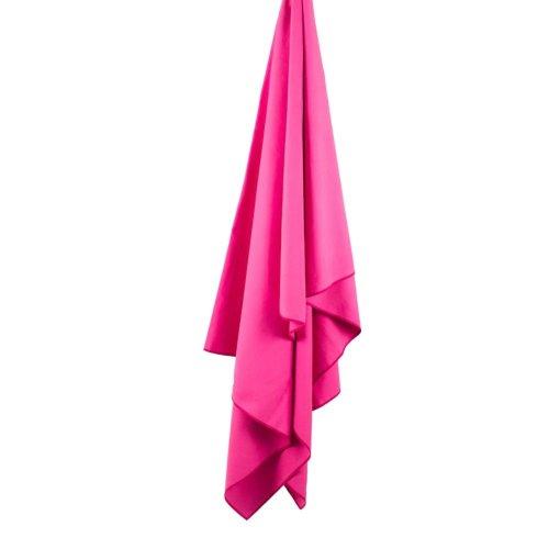 Lifeventure SoftFibre Trek Towel Pink(X Large)