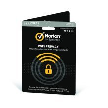 Symantec Norton WiFi Privacy 1 User 10 Devices V1.0 12 Month Card - UK